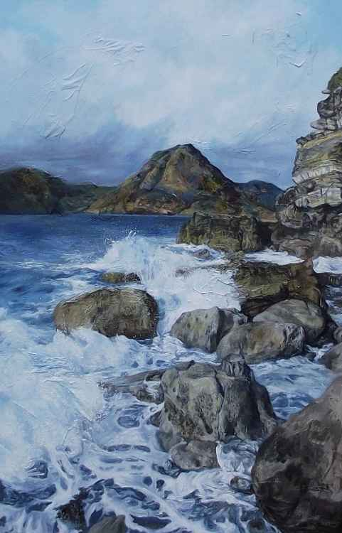 Rough Seas Ahead - The view from Elgol to the Cullins