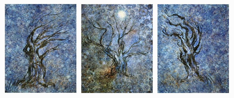 Three Wise Men (Ltd Edition of only 10 Fine Art Giclee Prints from original artwork.) - Image 0