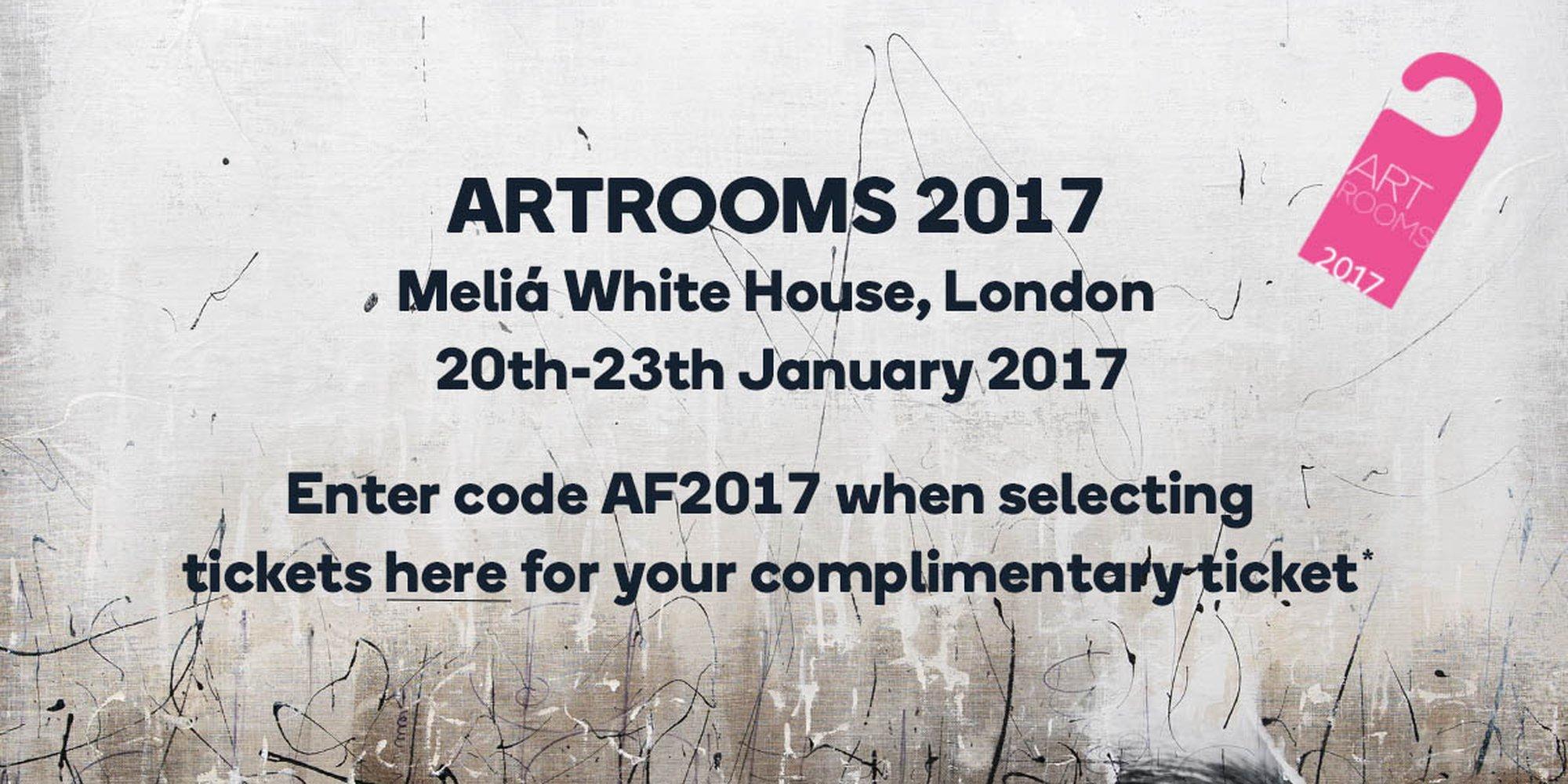 Artfinder is coming to ARTROOMS 2017