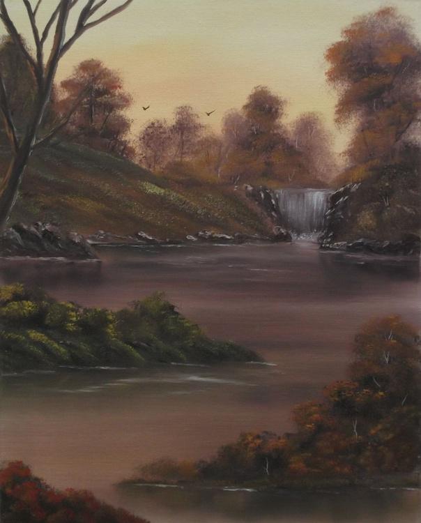 Early Morning At the Falls. - Image 0