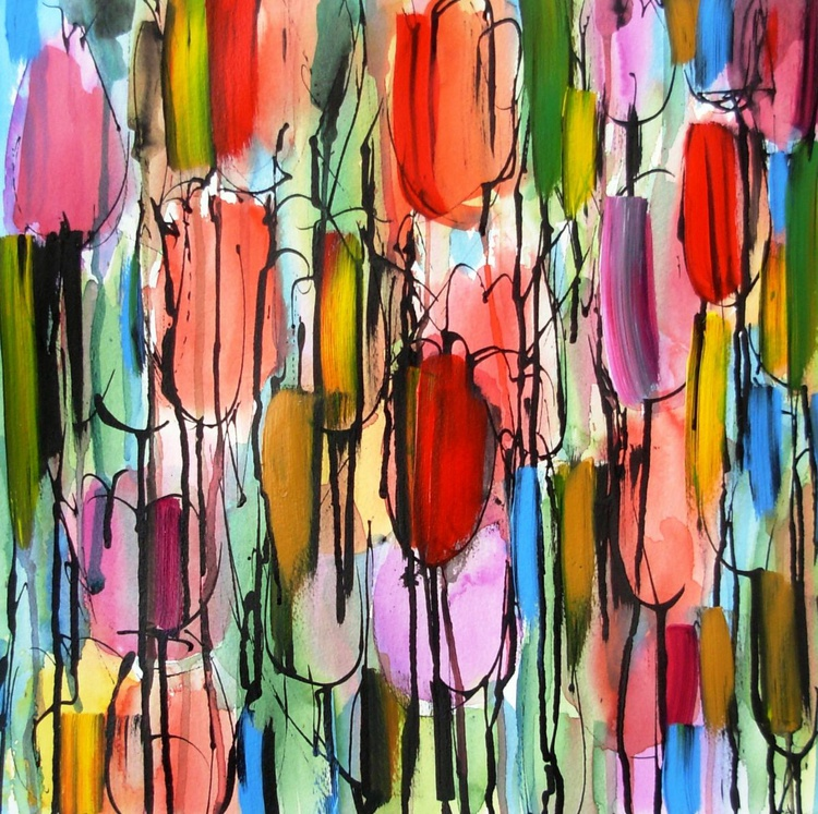 Abstract Tulips - Image 0