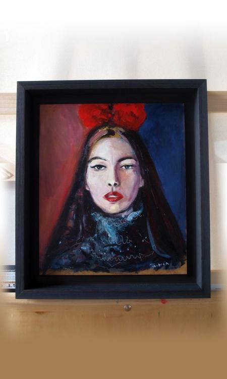 the widow from Velez (woman portrait study) - Image 0