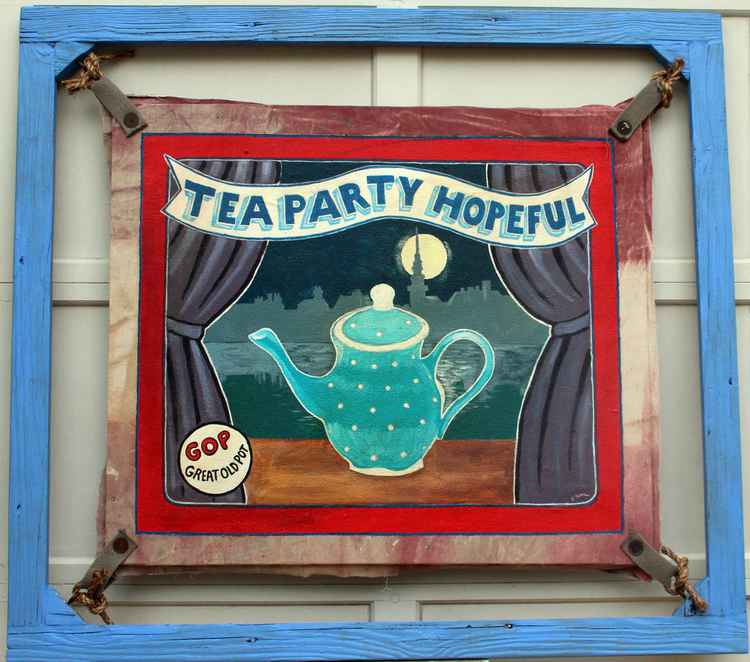 Tea Party Hopeful