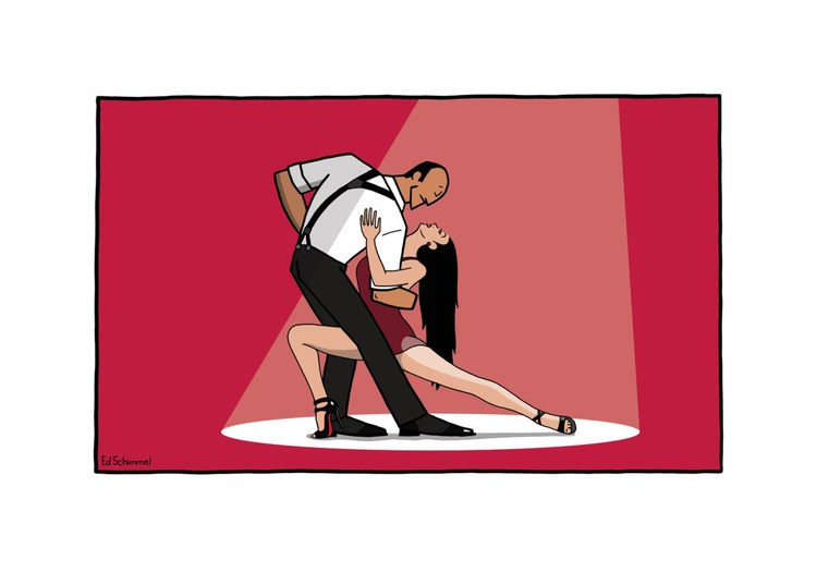 Passion del Tango - Limited edition of 50 - 70x50 - Image 0