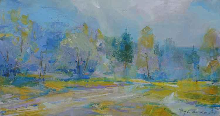 Blue Autumn -