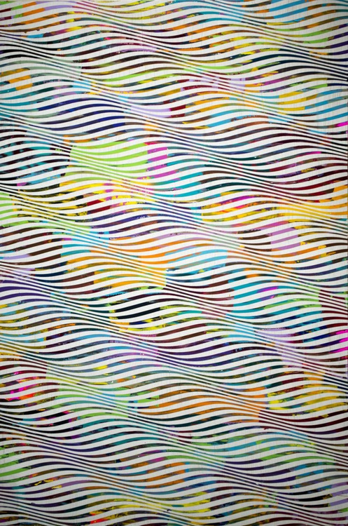 Psychedelic Field (Study of Cataract 3) - Image 0