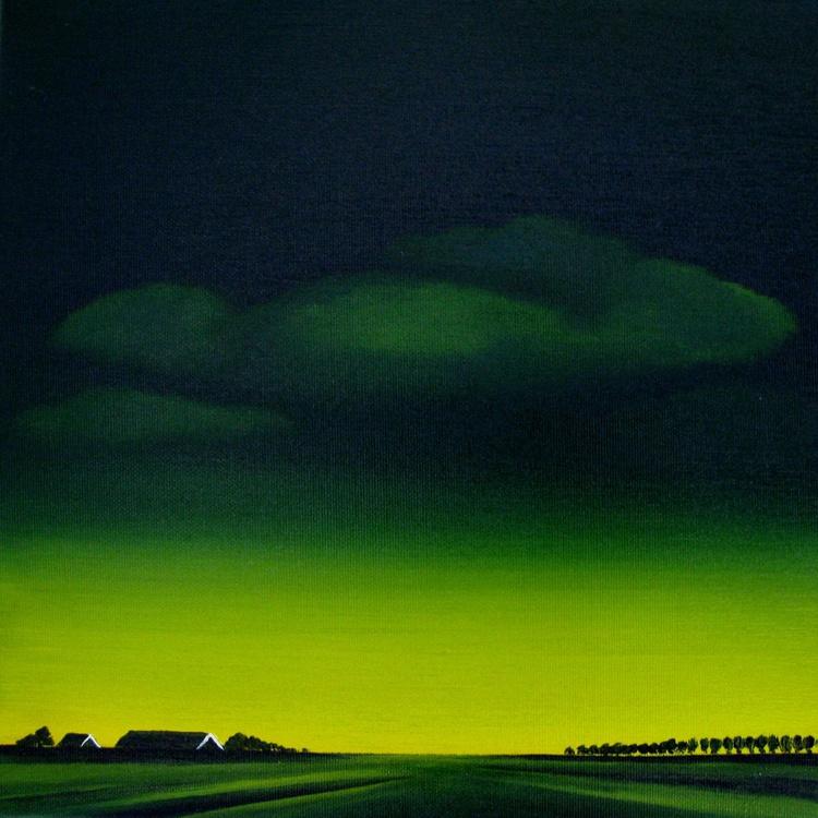 Polder in Zeeland, Dutch landscape - Image 0