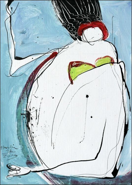 Sitting Nude Girl (Vera) - Image 0
