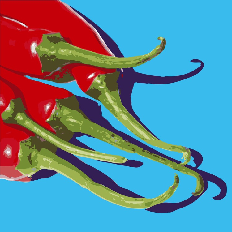 5 CHILIES#3 - Image 0