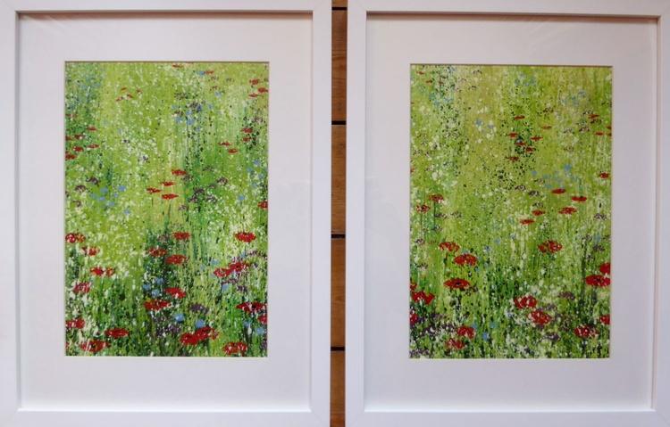 Poppy Meadow Pair - Image 0