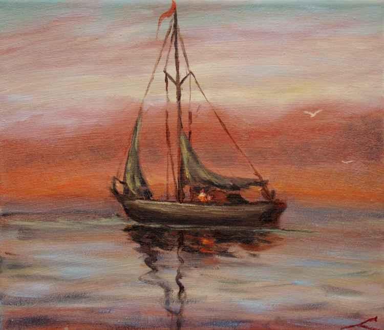 Morning sail2 -