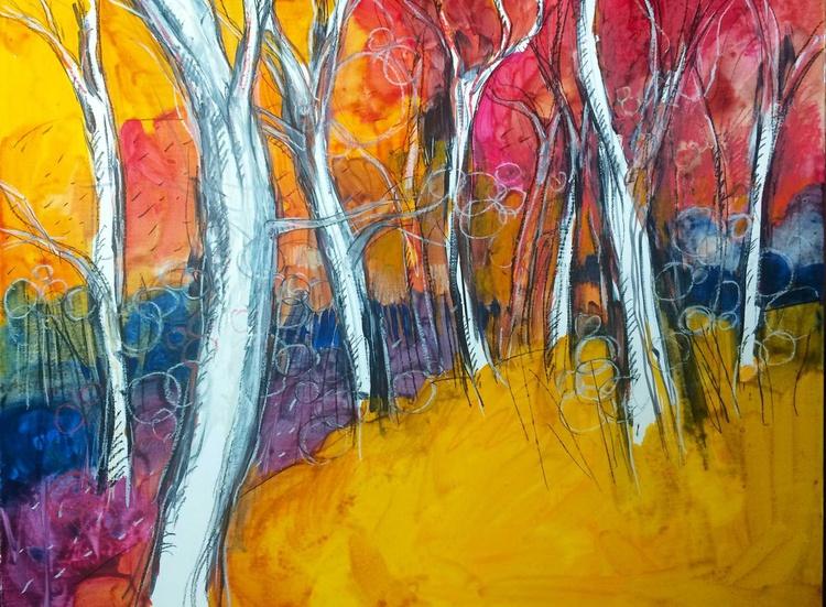 Games of light and color in the woods (Giochi di luce e colore nel bosco) - Image 0