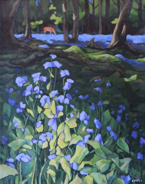 Bluebells and Sunlight -