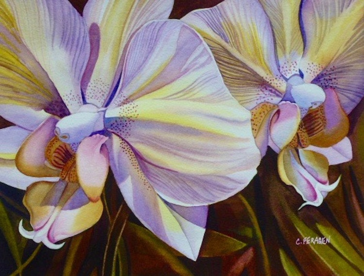 Two Orchids 1 - Image 0