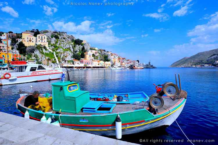 Symi Greek Island