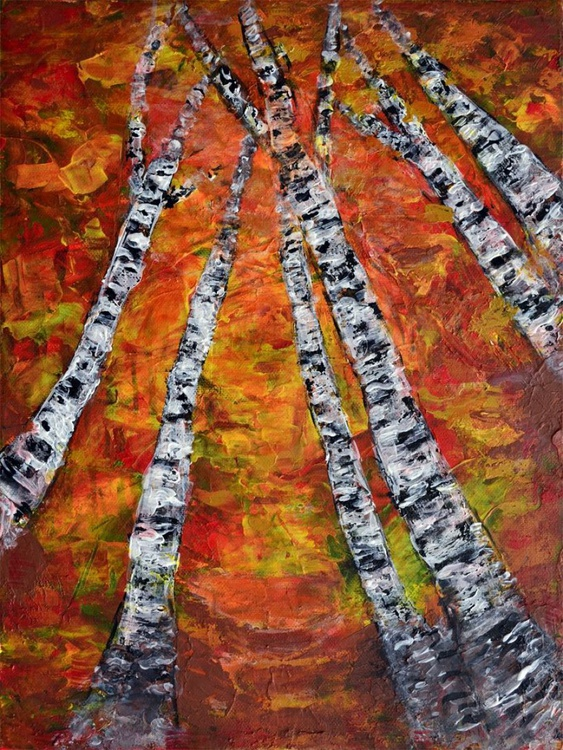 Just Trees-Deep Edge Canvas Ready To Hang - Image 0
