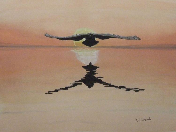 Seagull At Sunrise - Image 0