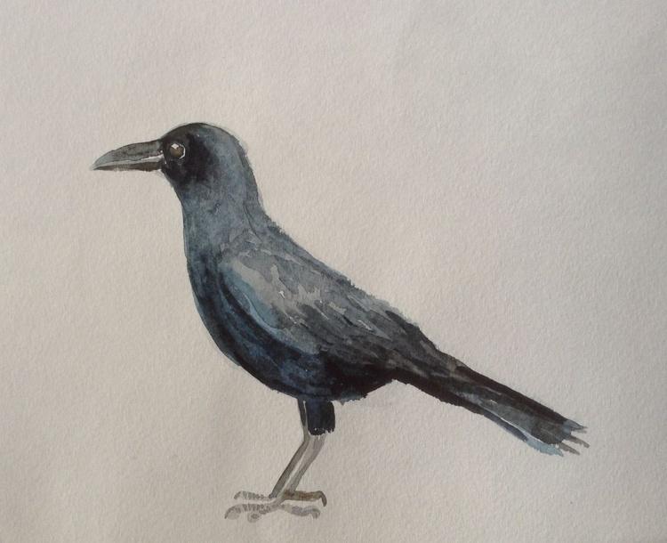 Raven. Zoo. etude 2 - Image 0