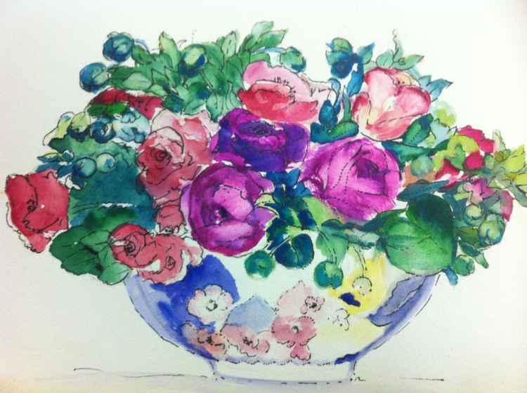 Flower Bowl -
