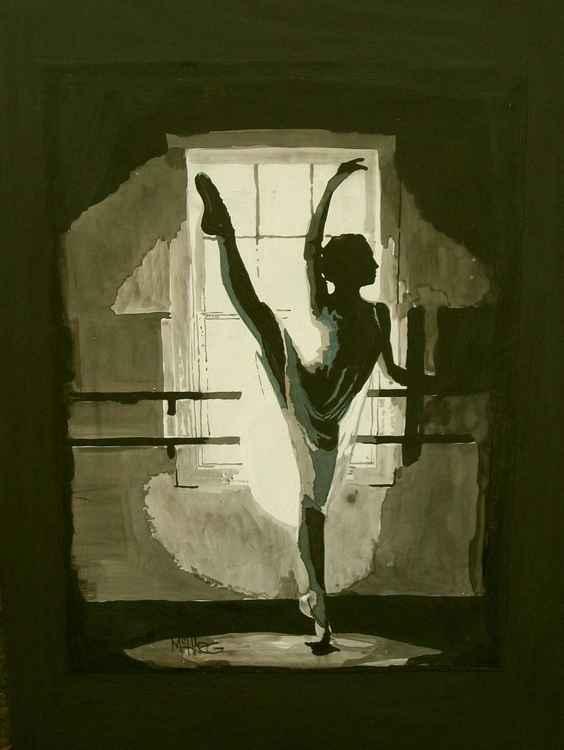 "Ballerina  18"" x 24"""
