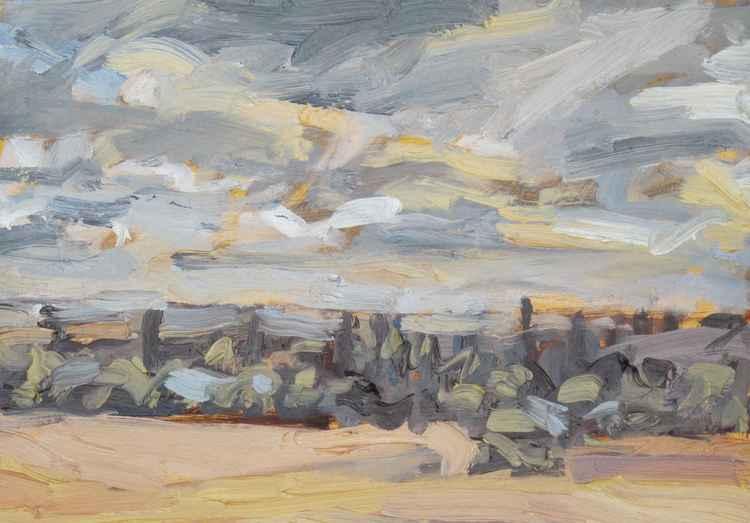 Kimbolton Skyline -