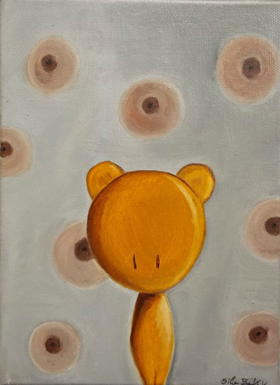the yellow teddy bear - Image 0