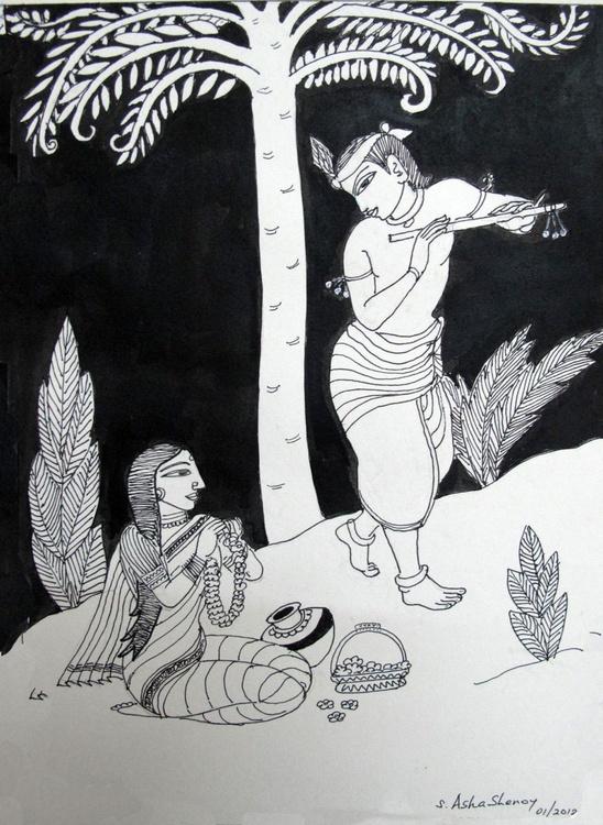 Krishna and Radha - Image 0