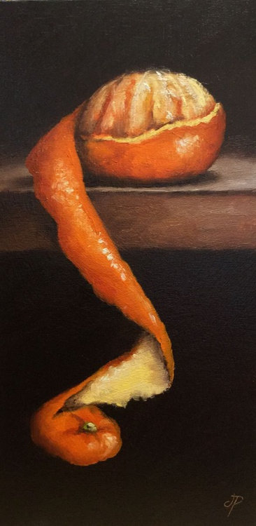 Peeled Clementine No. 8 - Image 0