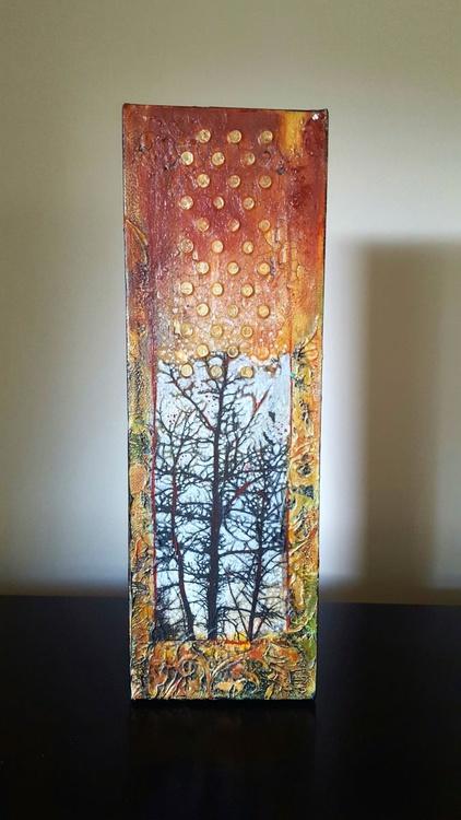 small tree painting - Image 0