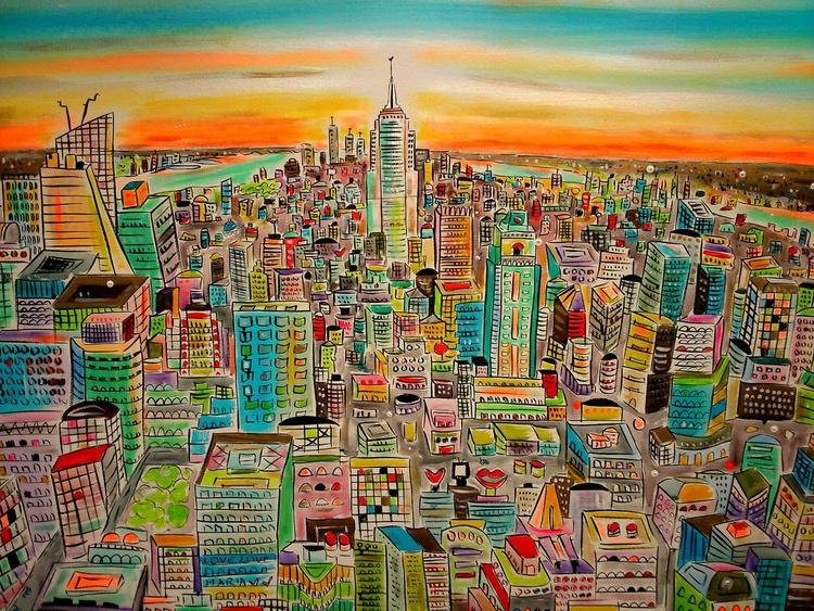 Futuristic New York City - Image 0