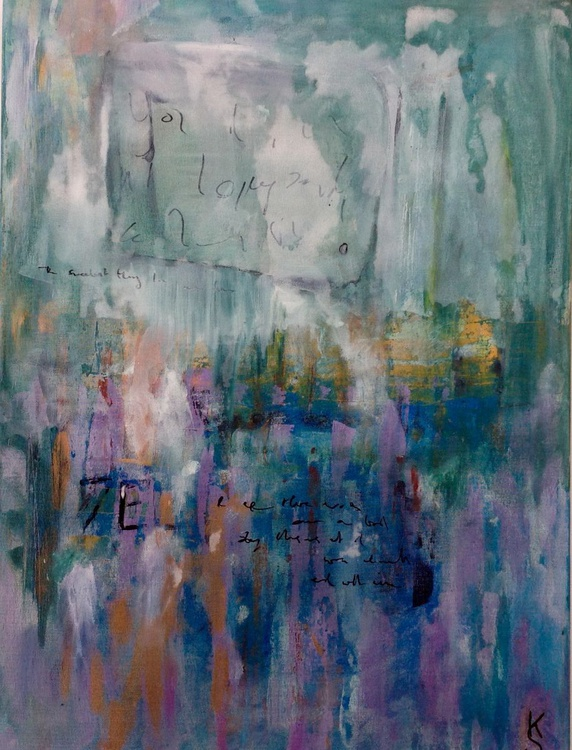 Bleached (large canvas) - Image 0