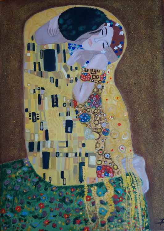 After Kiss Klimt