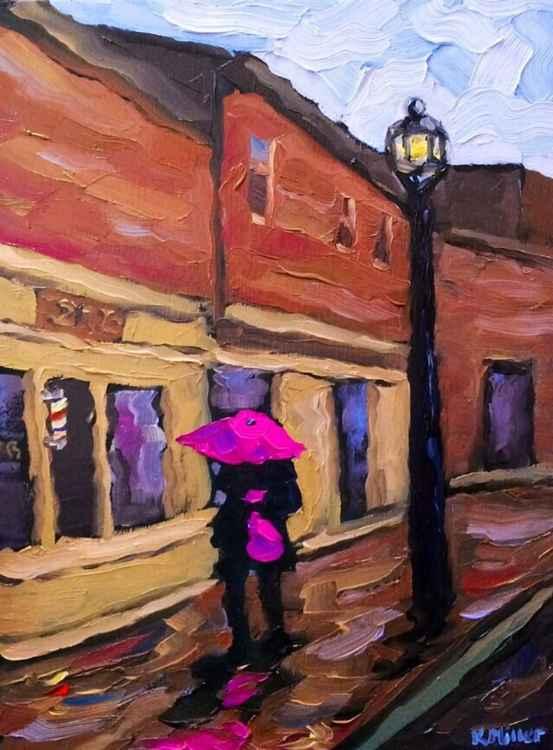 Pink Umbrella -