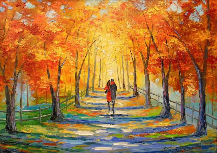 Walk in autumn Park - Image 0