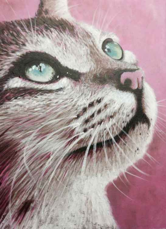 Original Painting of 'Abby' by Kirstin Wood -