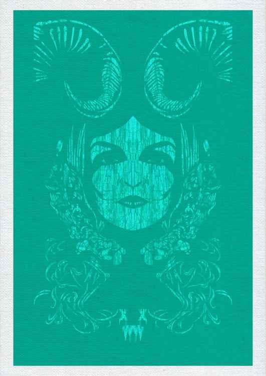 "XWWX - Goddess Devine ""Turquoise Elixir"" -"