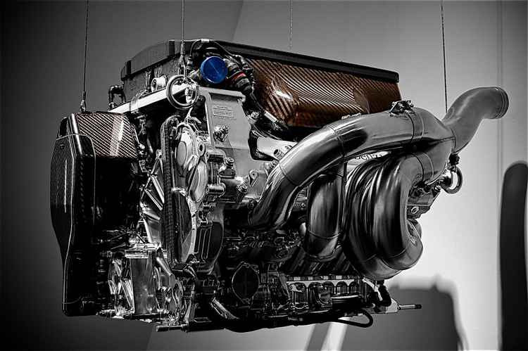 F1 Engine -