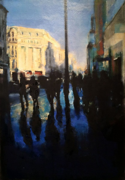Oxford Street - after the rain - Image 0