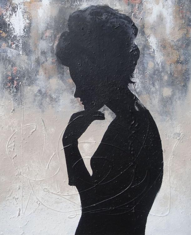 thinking of you (100 x 80 cm) - Image 0