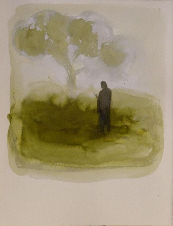 Landscape #35, 25x32 cm - Image 0