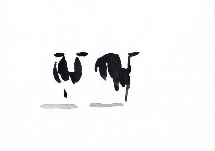 Two cows 3021B -