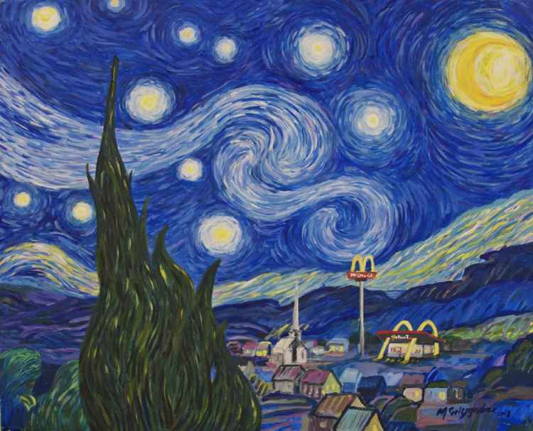 Open All Starry Night