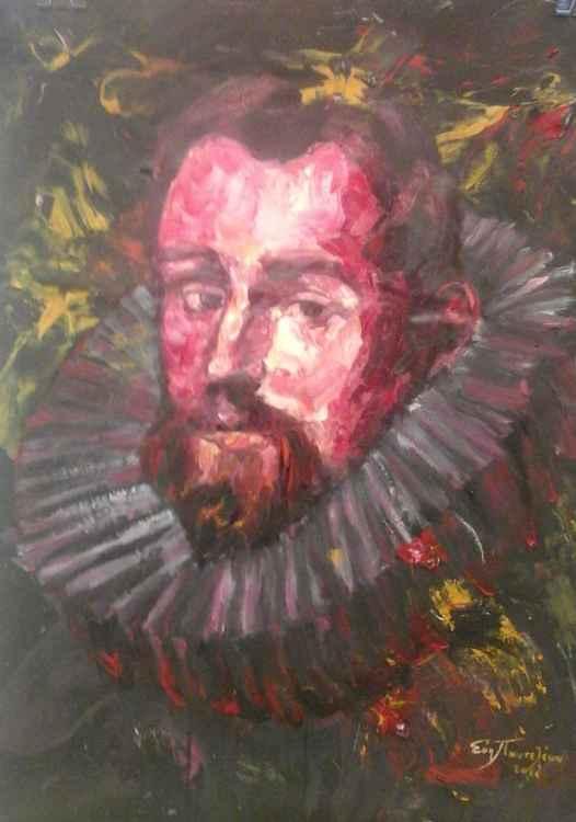 Portrait:  El Greco,Domenikos Theotokopoulos (1541-1614) -