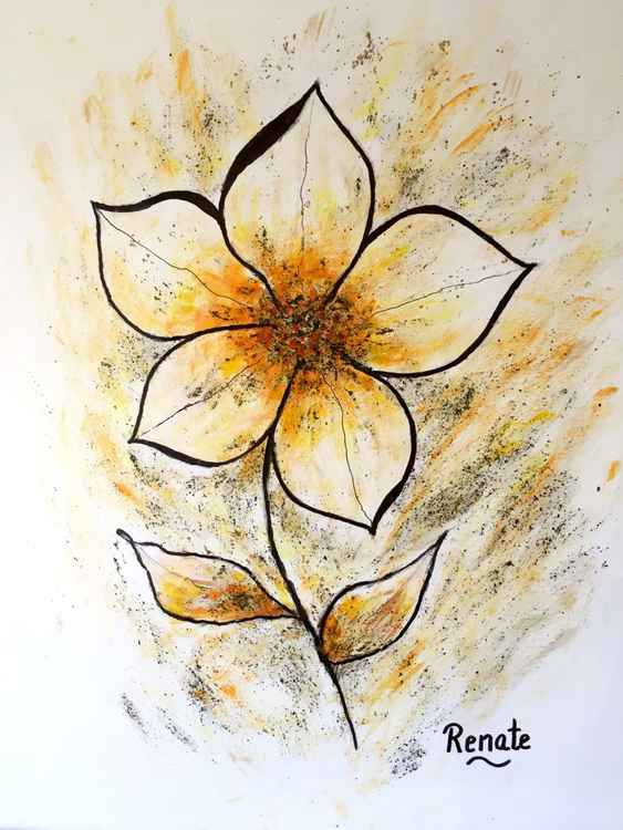 Magnolia Art-flower.... -