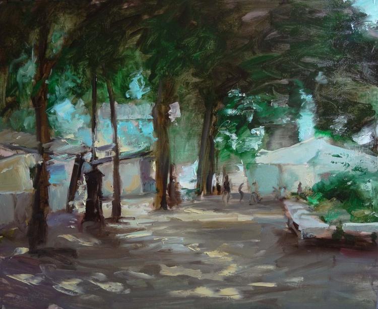 The market under the trees, Bastille - Image 0