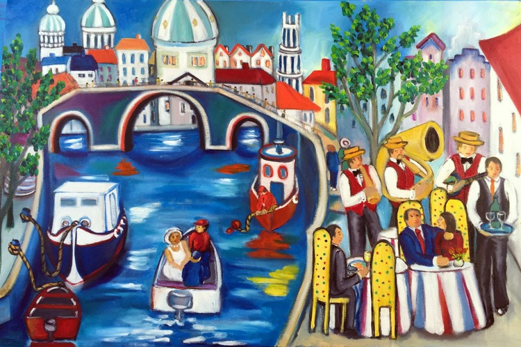 Romance at the Canal - Image 0