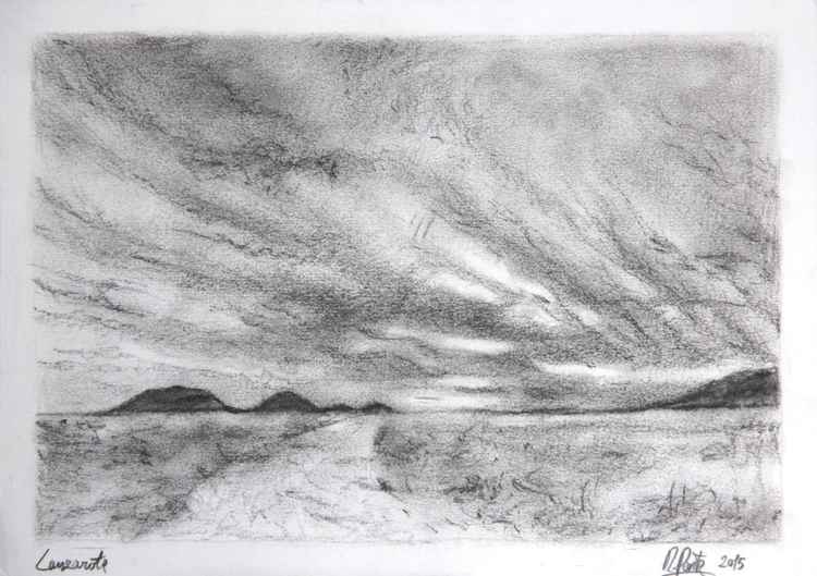 Lanzarote Canary island, Charcoal -