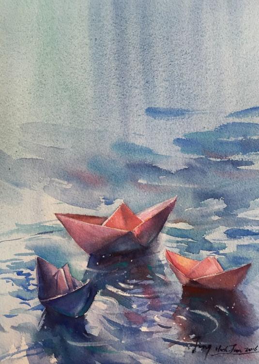 Folded Boats - Image 0