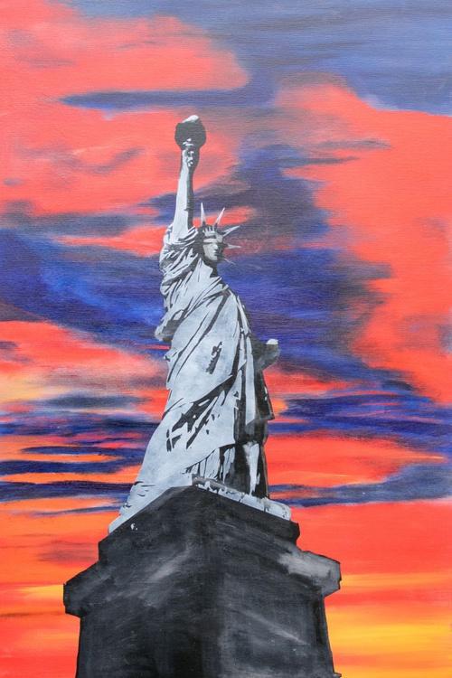 Sunset on Liberty - Image 0
