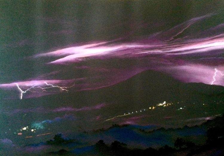 Orages - l'Arcus éclairé (Thunderstorms - The enlightened Arcus) - Image 0